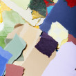Colorful Torn Paper Background — Stock Photo #22419971