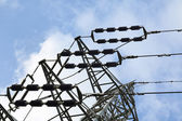 Electricity Pylon Detail — Stock Photo