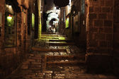 Old Jaffa Evening Alley — Stock Photo