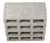 Bloques de construcción aislada - cuatro alto ángulo — Foto de Stock