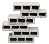 Construction Blocks Pyramid — Stock Photo