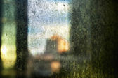 Afternoon Dirty Window — Stock Photo