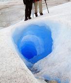 İki tünel girişi üzerinde duran — Stok fotoğraf