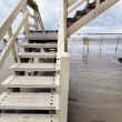 Stock Photo: Lifeguard Hut Staircase