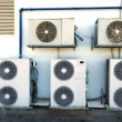 Rooftop Air Handling Units - Stock Photo