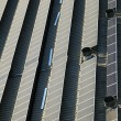 Rooftop Solar Panels — Stock Photo