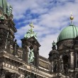 Berliner Dom and Cloudy Sky — Stock Photo