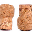 Isolated Champagne Cork - Stock Photo