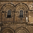 Church of the Holy Sepulchre Entrance - Stock Photo