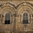 Church of the Holy Sepulchre Facade - Stok fotoğraf