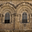 Church of the Holy Sepulchre Facade - Stock Photo