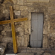 Pilgrimage Crosses - Stockfoto