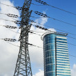 Pylon and Skyscraper — Stock Photo #22427995