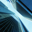 Stock Photo: Skyscrapers Abstract