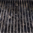 Grill Grate and LAva Stones - Stock Photo