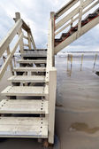 Lifeguard Hut Staircase — Stock Photo