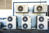 Rooftop Air Handling Units — Stock Photo