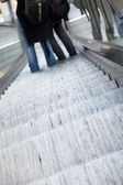 Downwards Escalator — Stock Photo