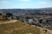 Mount of Olives and Dome of the Rock — Stock Photo