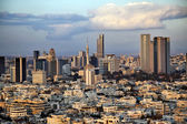 Downtown Tel-Aviv Skyline — Stock Photo