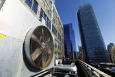 Urban HVAC Air Contidioner Outdoor Unit Manhattan New-York — Stock Photo