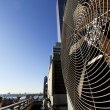Urban HVAC Air Contidioner Outdoor Unit Manhattan New-York - Foto de Stock