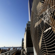 Urban HVAC Air Contidioner Outdoor Unit Manhattan New-York - Stockfoto