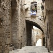 Old Jerusalem Alley — Stock Photo