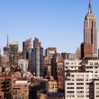 Empire State Building Midtown Manhattan Skyline New-York — Stock Photo