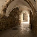 Old Jerusalem Tunnel — Stock Photo #22431965