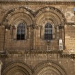 Church of the Holy Sepulchre Entrance — Stock Photo