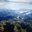 Aerial View of Clouds & Land — Stock Photo #22434147