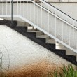 Outdoor Patio Stairs - Foto Stock