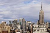 Empire State Building Midtown Manhattan Skyline New-York — Stock Photo