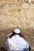 Praying in a Shawl — Stock Photo
