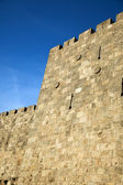 Old Jerusalem City Wall — Stock Photo