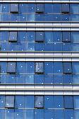 Patrón de muro cortina — Foto de Stock