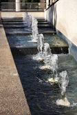 Urban Fountains — Stock Photo