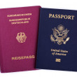 Double Nationality - American & German — Stock Photo