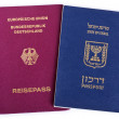 Double Nationality - Israeli & German — Stock Photo