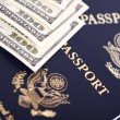 Cash & Passports — Stock Photo #22442691