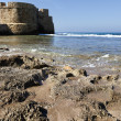 Stock Photo: Acco's City Wall & Seashore