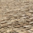 Stock Photo: Diminishing Stone Floor - Diagonal