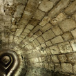 Stock Photo: Templar Tunnel in Acco