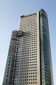 Andamios en rascacielos — Foto de Stock