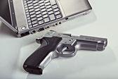 コンピューターのセキュリティ — ストック写真