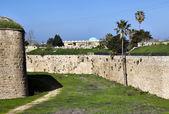 Ancient Acco Ruins & Wall — Stock Photo