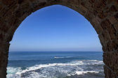Arch View to the Sea — Stock Photo