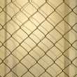 Metal Wall & Wire Mesh — Stock Photo