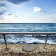 Sea Behind Banister — Stock Photo #22454477